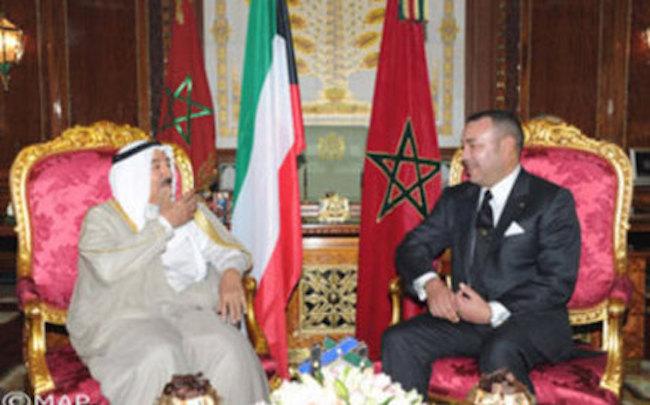 الملك يجدد تضامن المغرب مع الكويت في محاربة الإرهاب