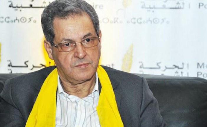 السموني يستقيل من الحركة الشعبية احتجاجا على الأوضاع السياسية والتنظيمية به