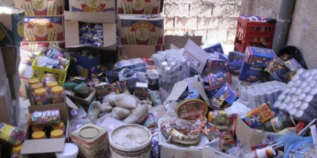جمعية مغربية-أمريكية توزع مساعدات فاسدة على معوزين بالدارالبيضاء
