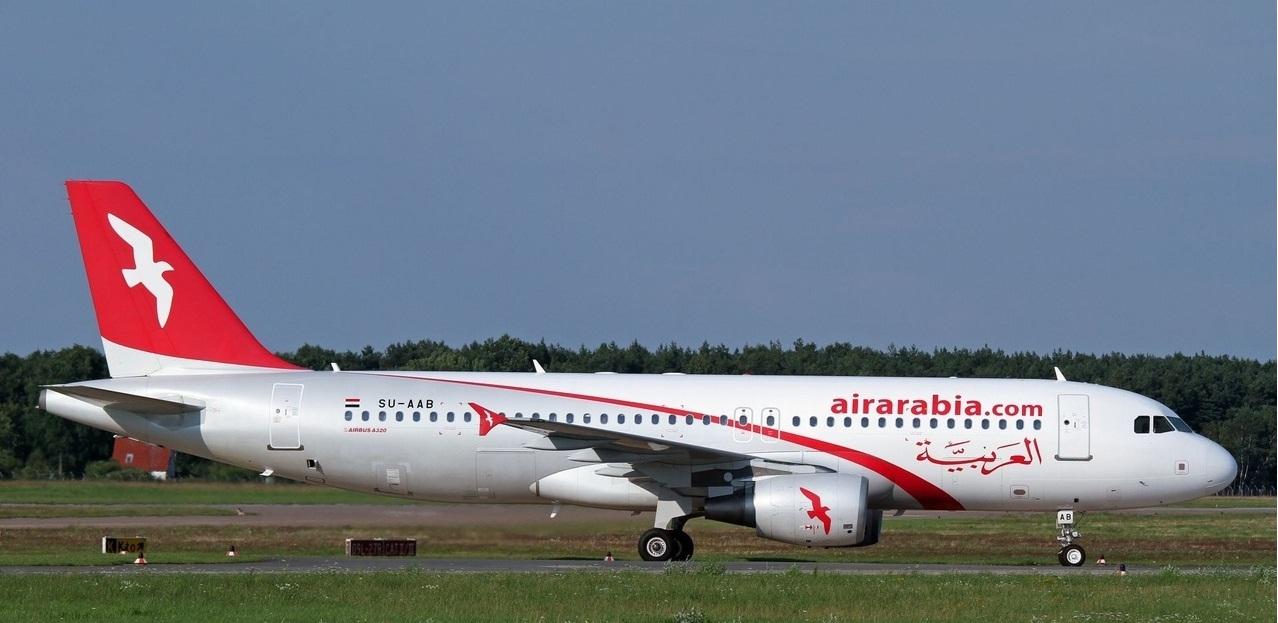 «العربية للطيران المغرب» توسع  أسطولها بطائرة إيرباص A320