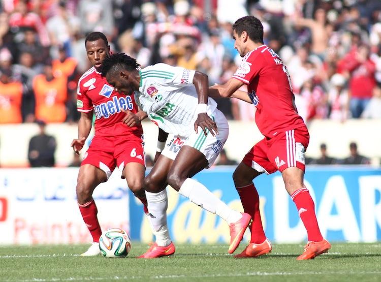 الرجاء يقرر جر لاعبه أوساغونا إلى ردهات «الفيفا»