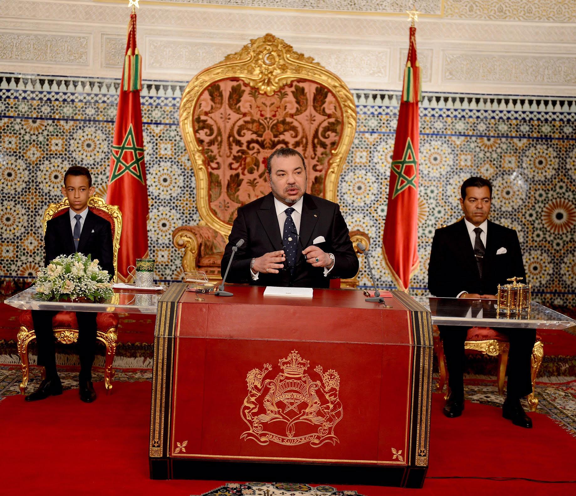 خطاب العرش : المغرب لن يسمح أبدا بالتطاول على سيادته ووحدته الترابية