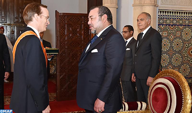 الملك يستقبل سفيري فرنسا واسبانيا في اعقاب انهاء مهمهما الديبلوماسية بالمغرب