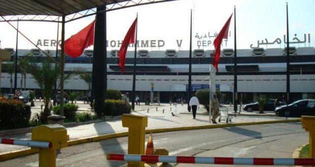 حريق بعشب مدرجات مطار محمد الخامس يستنفر رجال الإطفاء
