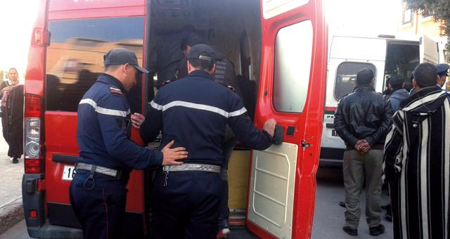 اعتداء على عون سلطة بواسطة قنينة زجاجية أمام الملحقة الإدارية الثانية ببرشيد