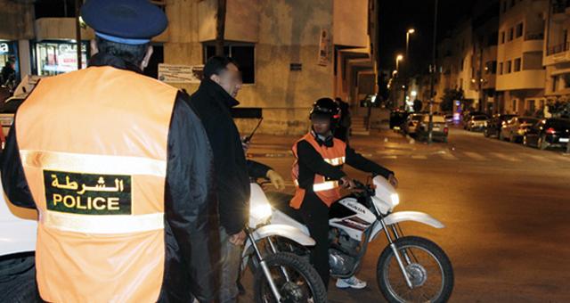 أمن مراكش يوقف مغربيا وجزائرية تناولا الخمر وشابين تبادلا القبل في رمضان