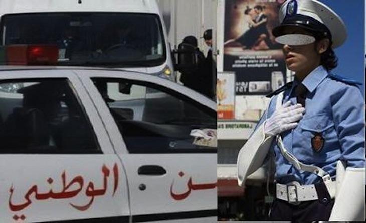 إصابة شرطية مرور بأمن برشيد بانهيار عصبي بالشارع
