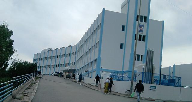 وقفة احتجاجية بالمستشفى الجهوي بطنجة بعد احتجاز ممرضتين من طرف جانحين