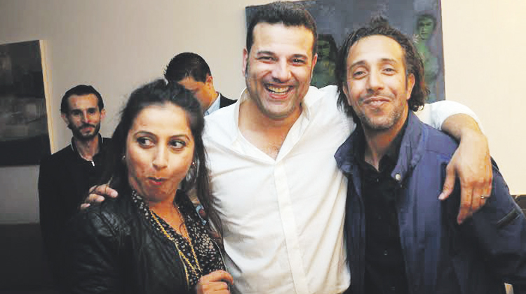 سعيد موسكير رفقة الشاب غاني و سناء القدميري