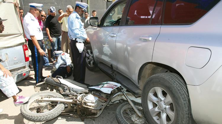"""اعتقال صهر منعش عقاري كبير بطنجة بتهمة دهس شرطي من فرقة """"الصقور"""""""