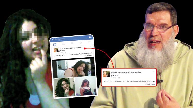 حكاية البيضاوية نعمة التي تتحرش بالفزازي وآمال التي تقول إن زوجته الفلسطينية تعرضت للاغتصاب من طرف يهود إسرائيل