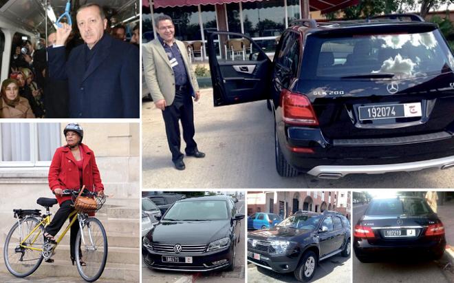 رؤساء دول يتنقلون عبر الميترو والدراجات الهوائية ورؤساء جماعات يركبون سيارات فارهة