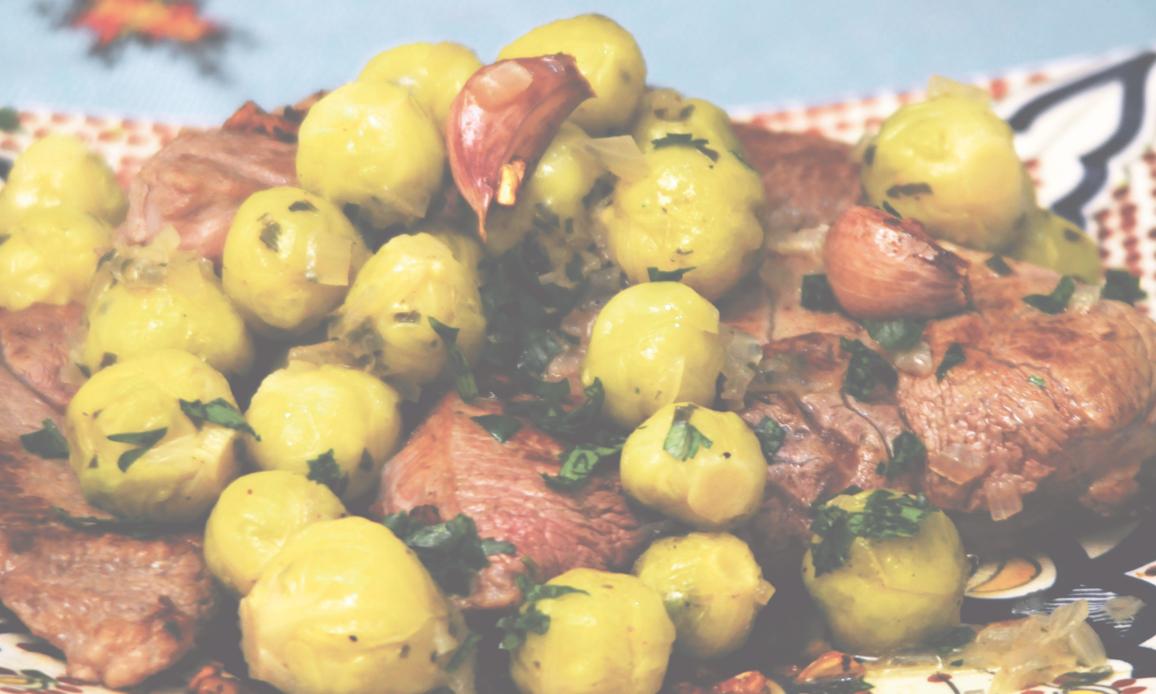 طبق اللحم بملفوف «بروكسيل»