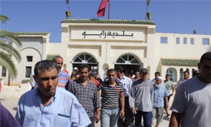 عاجل : اعتقال عوني سلطة باقليم الناظور