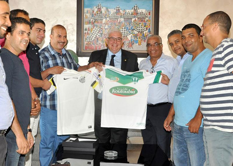 «الكاك» يوقع اتفاقية شراكة مع «سانطوس» البرازيلي