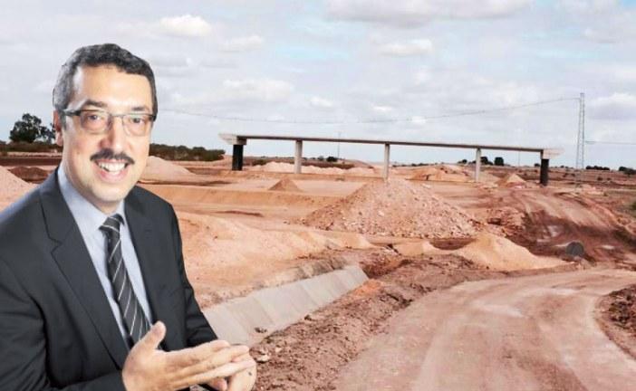 شركة الطرق توضح و الأخبار تنشر تناقضات أنور  بنعزوز حول فشل الطريق السيار لآسفي