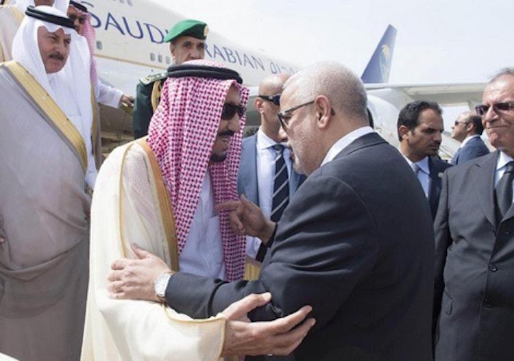 العاهل السعودي يغادر طنجة صوب الولايات المتحدة