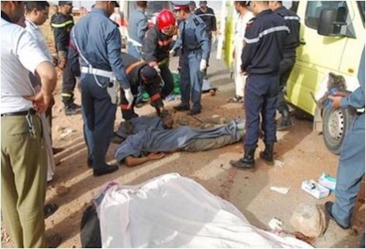 اعتقال مهاجر أصاب ثلاثة أشخاص برصاص بندقية صيد بسطات