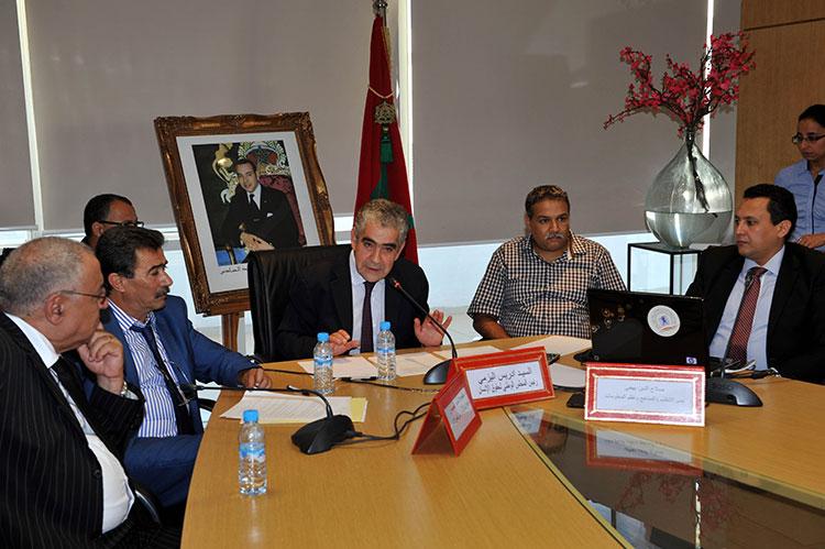 المجلس الوطني لحقوق الإنسان يعرض تقريره حول الاستحقاقات الانتخابية الأخيرة