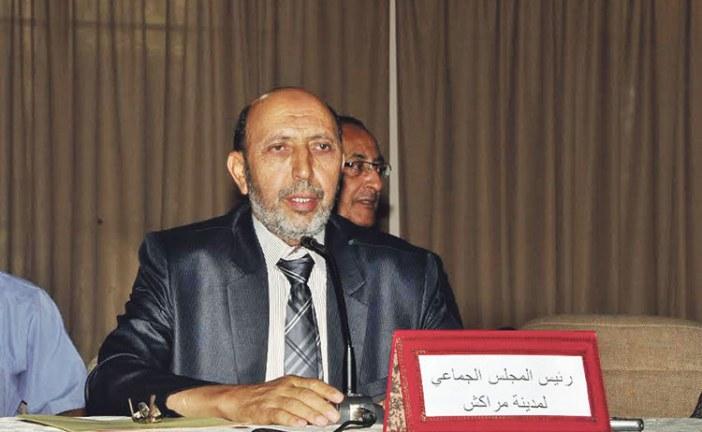 محمد العربي بلقايد رئيس المجلس الجماعي لمدينة مراكش