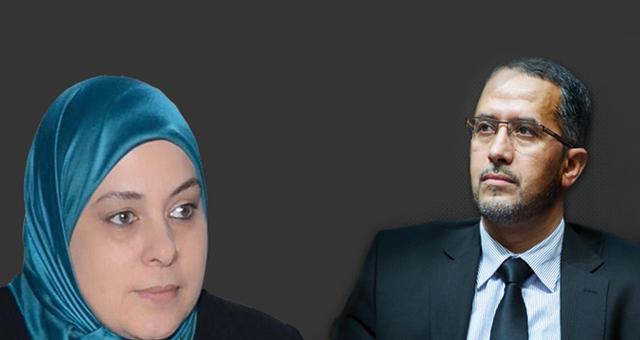 """سمية بنخلدون """"تزف"""" الشوباني رئيسا لجهة درعة تفيلالت"""