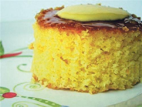 كعكة البرتقال مع حبة البركة الخفيفة «الدايت»