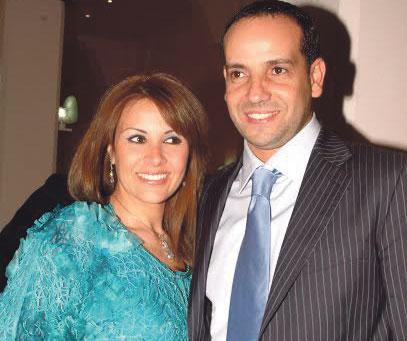 سعد التسولي وزوجته فاطمة خير