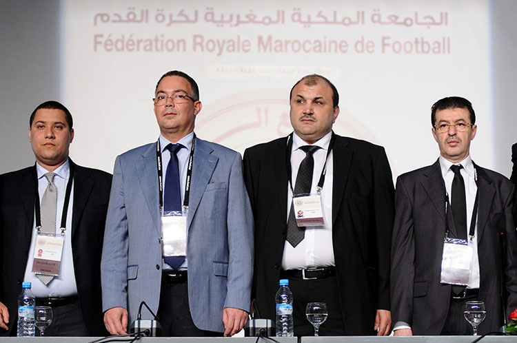 الناصري والسنوسي يتقدمان نواب رئيس الجامعة في المكتب المديري