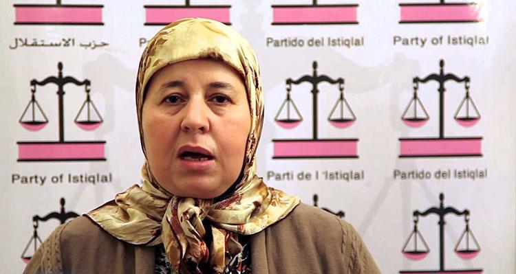 """الناطقة باسم شباط: لم نتخذ أي قرار بالانسحاب من المعارضة أوالتصويت ضد """"البام"""""""