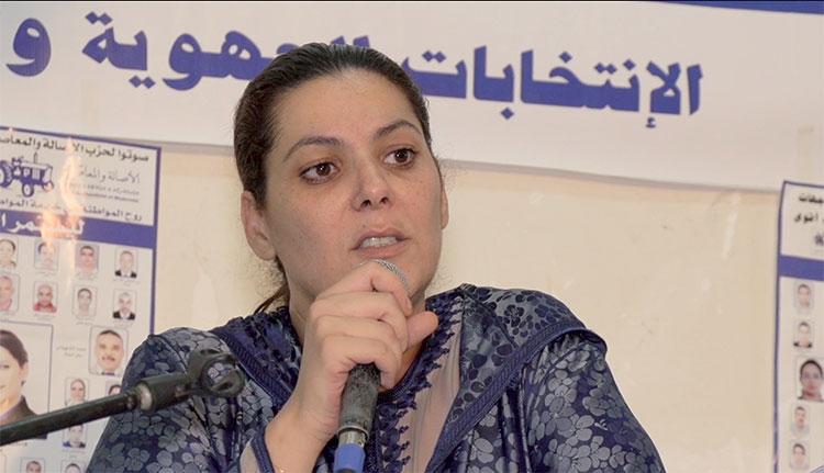 فاطمة الزهراء المنصوري.. امرأة واحدة في مواجهة عشرة رجال بـ«دائرة الموت» في مراكش