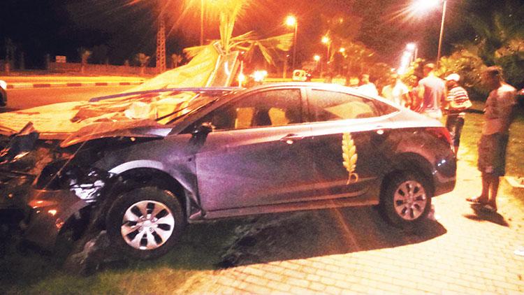 مدير الحملة الانتخابية لحزب «السنبلة» ببرشيد يتسبب في حادثة سير خطيرة وهو في حالة سكر