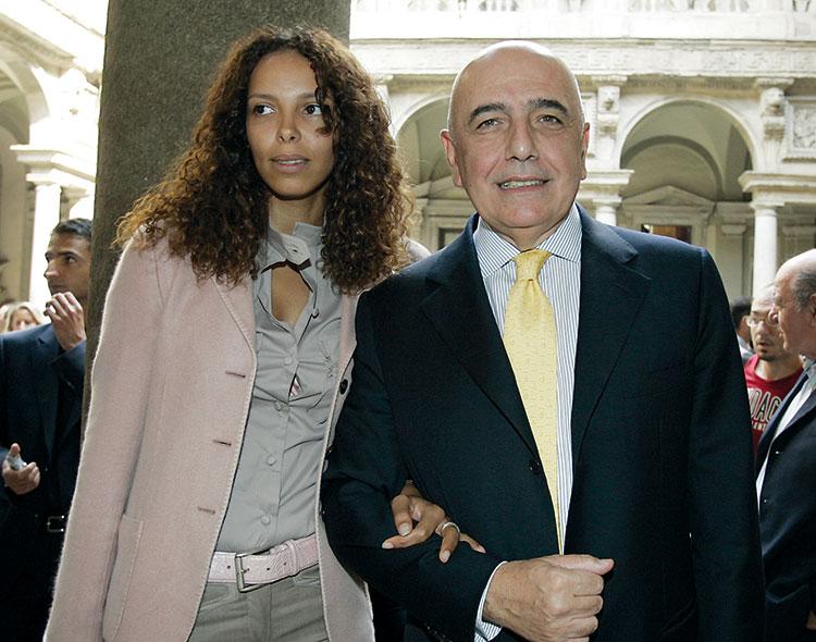 مليكة الهزازي.. المغربية التي «حركَت» إلى إيطاليا فتزوجت الرئيس التنفيذي لأسي ميلان