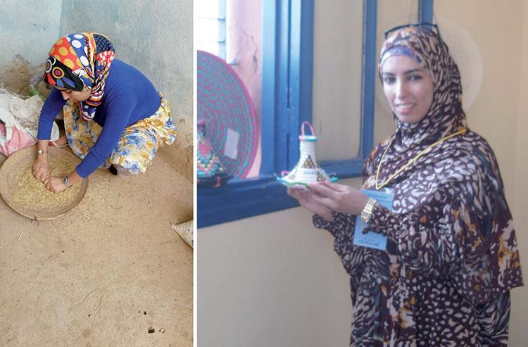 قصة شابة تنازل الصقور في لائحة محلية وتضع نصب عينيها رئاسة جماعة بطاطا