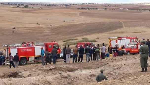 إنقاذ قاصرين علقوا 12 ساعة بمغارة مهجورة بخريبكة