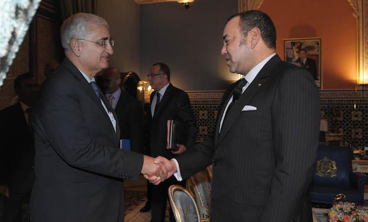 """منذ 2001 ثاني زيارة رسمية للملك للهند للمشاركة في قمة """"الهند-إفريقيا"""""""