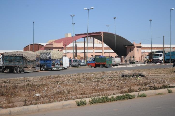 حصاد يراسل والي جهة مراكش آسفي في شأن اختلالات بسوق الجملة للخضر والفواكه