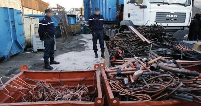 الوكيل العام بخريبكة يودع أفراد عصابة متخصصة في سرقة الأسلاك النحاسية من «ocp» السجن المحلي
