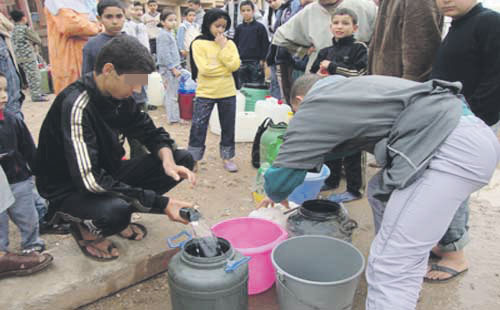 دواوير بضواحي طنجة تشتكي من انقطاع المياه المتكرر