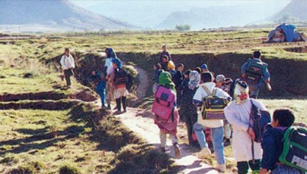 تلاميذ ينقطعون عن الدراسة بآسفي بعد اختفاء ثلاث سيارات للنقل المدرسي