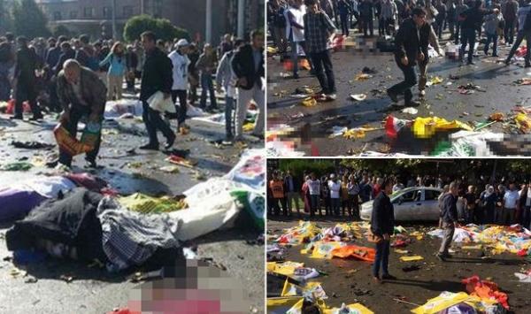 الملك يبعث لأردوغان برقية تعزية في ضحايا تفجير أنقرة