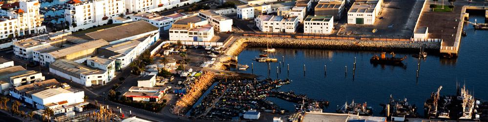 آليات وتجهيزات ميناء سيدي إفني تعرض في المزاد العلني