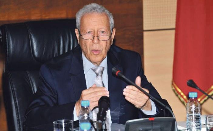 رشيد بلمختار وزير التربية الوطنية