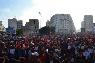 النقابات تنزل إلى الشارع وتطالب بنكيران بالرحيل