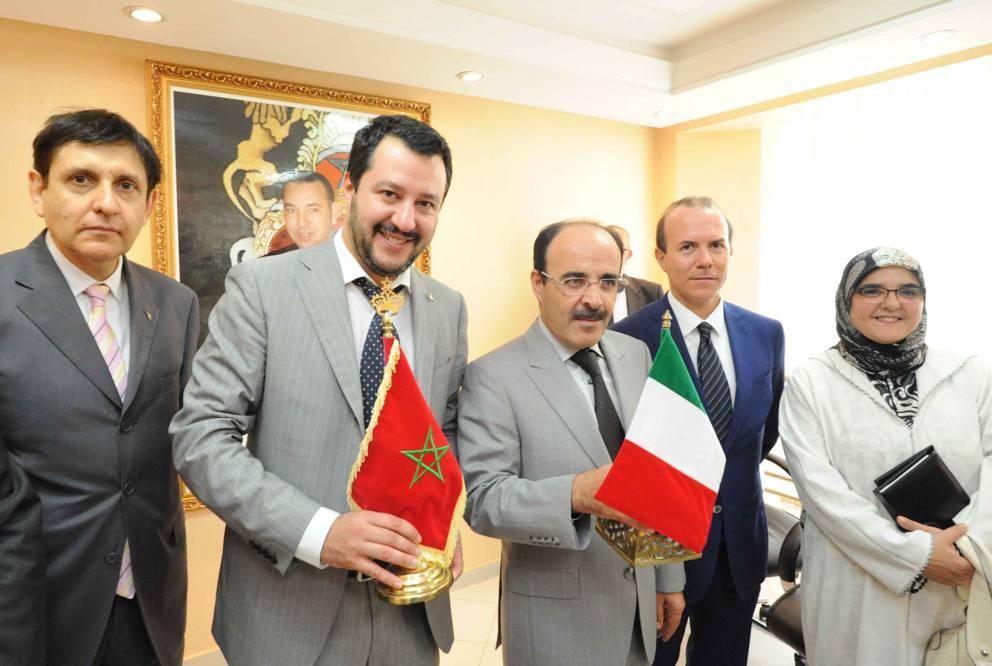 زعيم أكبر حزب يميني إيطالي يزور المغرب ويعلن دعمه للحكم الذاتي