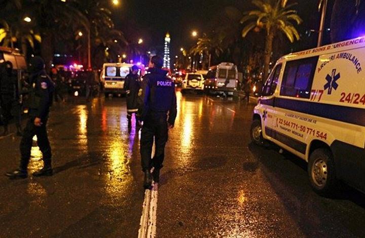 """""""داعش"""" تتبنى تفجير حافلة الأمن الرئاسي التونسي ب10 كيلوغرامات وعنصر انتحاري"""