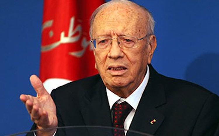 الرئيس التونسي يعلن حالة الطوارئ بالبلاد لمدة شهر
