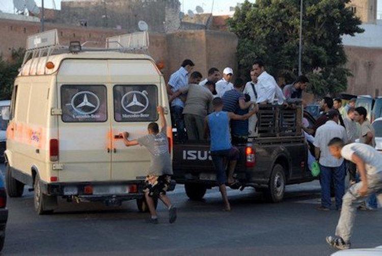 نقل معتقلين مع «الخطافة» للمثول أمام القضاء في آسفي واليوسفية