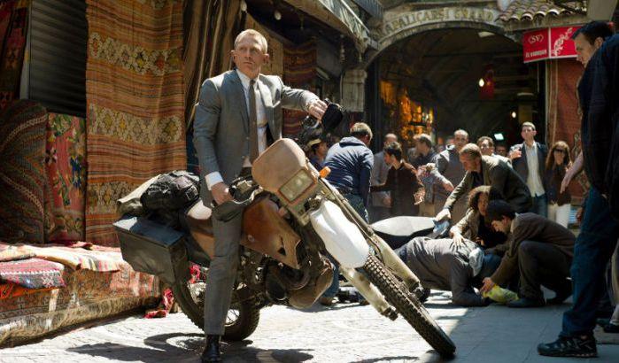 إلغاء العرض الأول لفيلم جيمس بوند المصور في المغرب