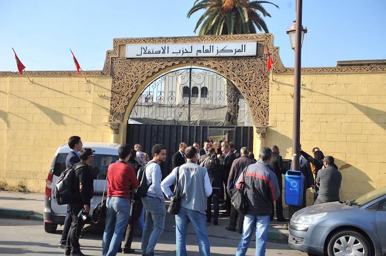 شباط يمنع الصحافيين من حضور المجلس الوطني لحزب الاستقلال