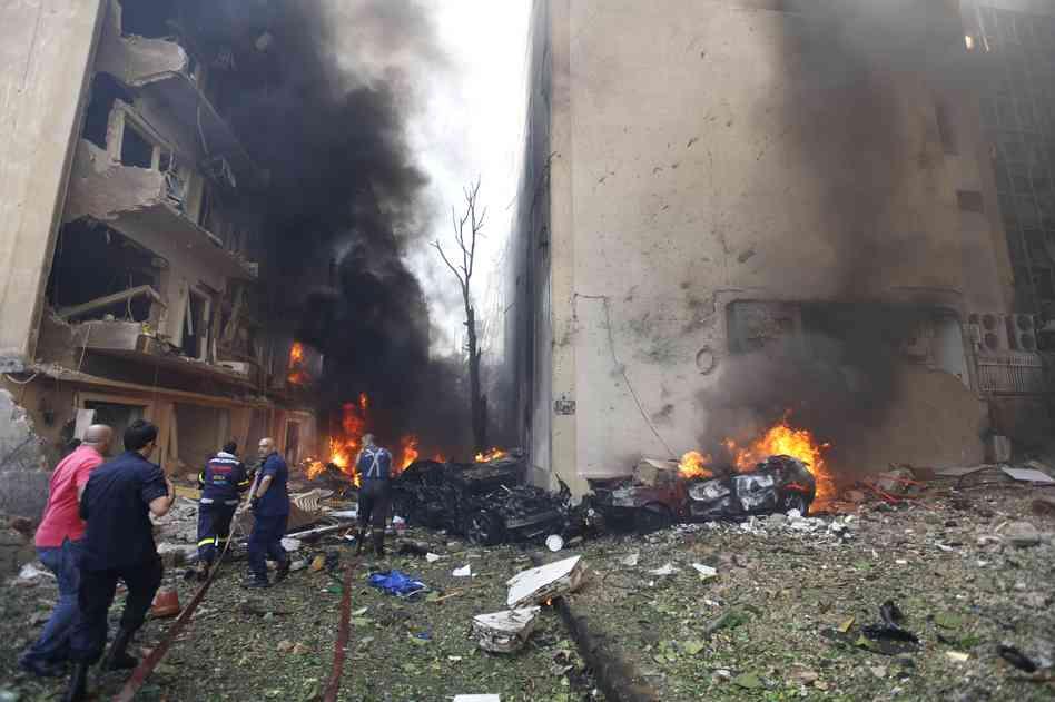 الإرهاب يضرب بقوة وسط العاصمة بيروت و41 قتيلا حصيلة انفجارين